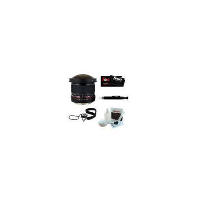 Rokinon ROKINON 8mm F3.5 HD Fisheye Lens w/Removable Hood for Nikon AE + Focus Micro Fib