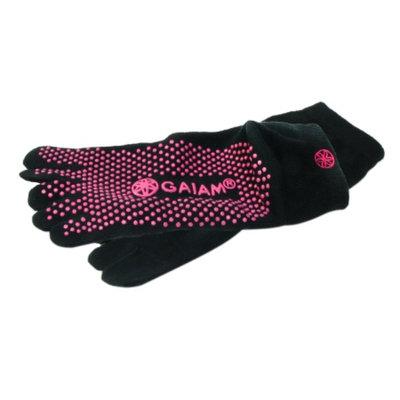 Gaiam Grippy Yoga Socks, Pink, Medium/Large, 1 ea