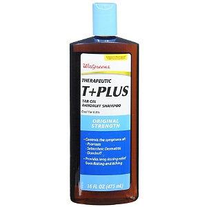 Walgreens T Plus Tar Gel Dandruff Shampoo Original