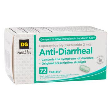 DG Health Anti-Diarrheal - Caplets, 72 ct