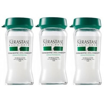 Kerastase Resistance Concentre Vita-Ciment - Reconstructive Treatment 3 vials