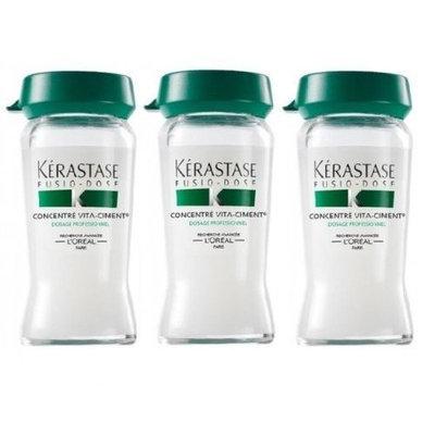 Kerastase Resistance Concentre Vita-Ciment - Reconstructive Treatment 3 vials