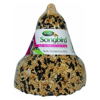 Scotts Songbird Selections 1022819 Multi-Bird with Fruit & Nuts Wild Bird Food, Bell Shape, 12-Ounce