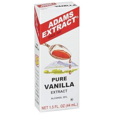 Adams Extract: Pure Vanilla Extract, 1.5 Oz