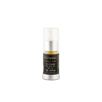 The Gentlemens Refinery 'The Standard' Pre-Shave Oil (15ml) TSA Travel Size All-Natural and Organic