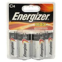 Energizer Max C Alkaline Batteries - 4 Pack