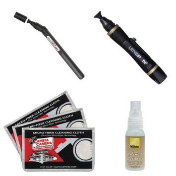 LENSPEN Lenspen SensorKlear II SENSOR Cleaning Pen + Kit for Nikon D3200, D3300, D5200, D5300, D7000, D7100, D610, D800, D810, D4s DSLR Cameras
