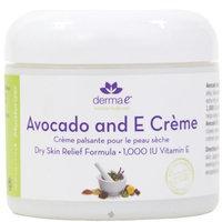 Derma E Avocado & Vitamin E Dry Skin Relief Cream by Derma-E 4 oz Cream