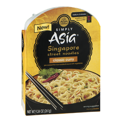 Simply Asia Singapore Street Noodles Classic Curry