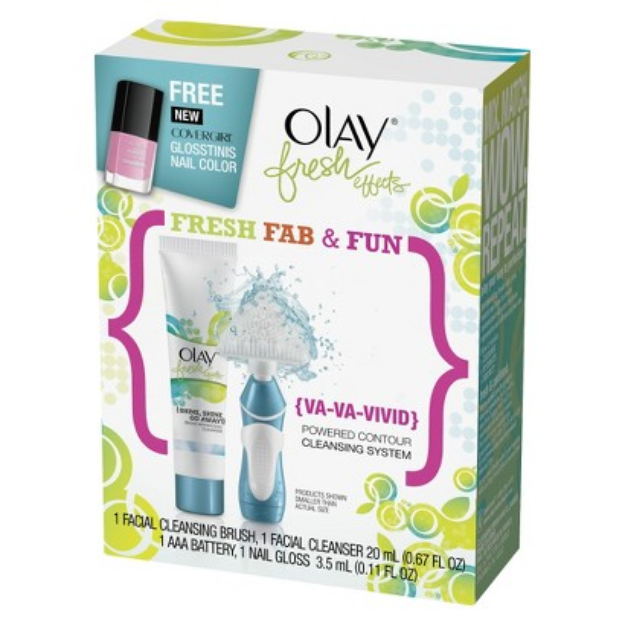 Olay Fresh Effects {Va-Va-Vivid} Powered Contour Cleansing System