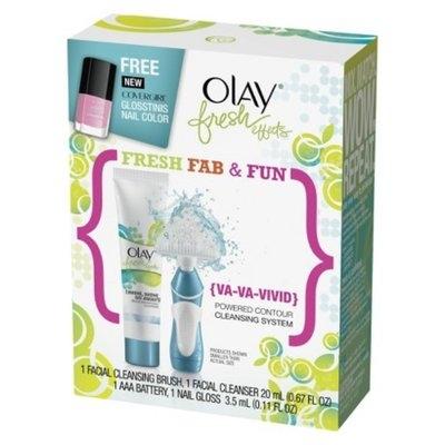 Olay Fresh Effects {Va-Va-Vivid} Powered Contour Cleansing System