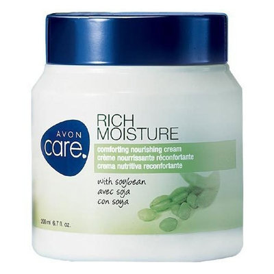 Avon Care - Rich Moisture Comforting Nourishing Cream with soybean