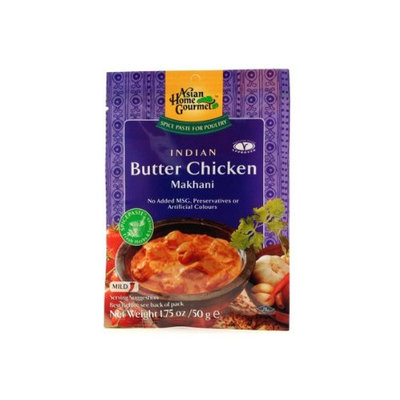 Asian Home Gourmet Indian Butter Chicken (Instant Makhani Sauce Mix) - 1.75oz (Pack of 12)