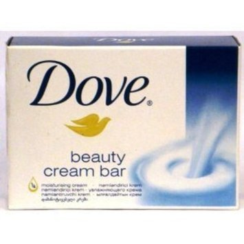 Dove White Beauty Cream Bars 4.75 oz-Pack of 12 Bars