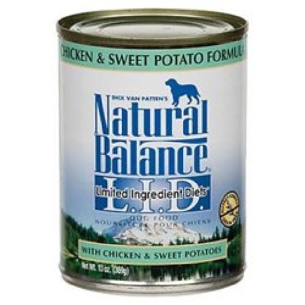 Natural Balance Sweet Potato & Chicken