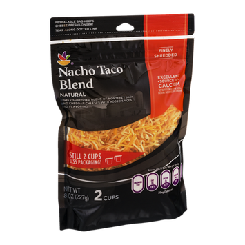 Ahold Nacho Taco Blend Finely Shredded