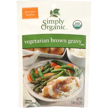 Simply Organic Certified Organic Vegetarian Brown Gravy Seasoning Mix