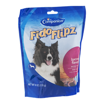Companion FidoFlipz Dog Treats Bacon