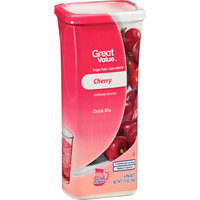 Great Value : Cherry Drink Mix
