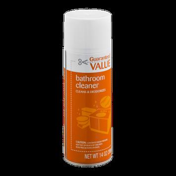 Guaranteed Value Bathroom Cleaner