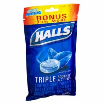 Halls Mentho-Lyptus Cough Suppressant Triple Soothing Action Drops