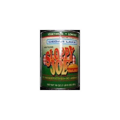 Cedar Lake Sloppy Joe - Vegan (12 Cans)