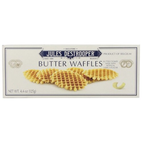 Jules Destrooper Paris Butter Waffles, 4.4 Ounce