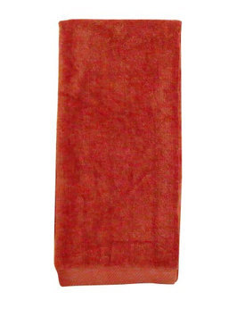 Pds Online 100% Terry Velour Cotton Hemmed Tri-Fold Golf Towel 16 x 25 Wine2000