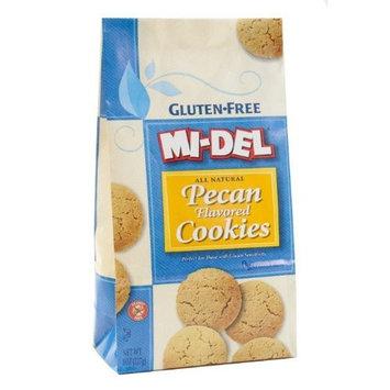 Midel Mini Pecan Cookies Gluten Free ( 12x8 OZ)