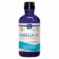 Nordic Naturals Omega-3D Purified Fish Oil with Vitamin D