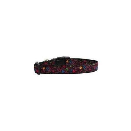 Ahi Black Star Nylon Ribbon Collars Large