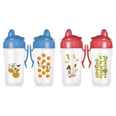 Philips AVENT 2 Pack BPA Free Decorated Cup, 18+ Months, 12 Ounce, Styles and Designs May Vary