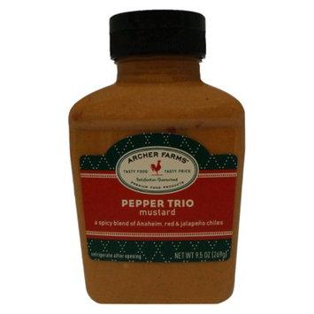 Archer Farms Pepper Trio Mustard - 9.5 oz. Squeeze Bottle