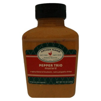 Archer Farms Pepper Trio Mustard - 9.5 oz. Squeeze Bottle