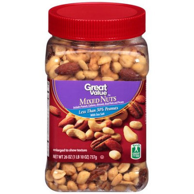 Great Value Mixed Nuts, 26 oz