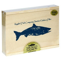 Kasilof Fish Company Alder-Smoked Pacific Salmon, Fillet in Gift Boxes