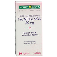Nature's Bounty Optimal Solutions Pycnogenol 30mg, Capsules