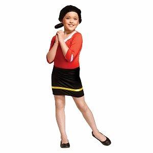 FunWorld Costumes Popeye Olive Oyl Child Costume