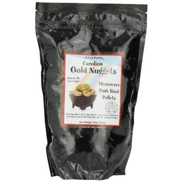 Julia's Pantry Carolina Gold Nuggets Microwave Pork Puffies Bake-N-Puffs, Original, 16 Ounce