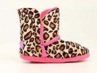Blazin Roxx Youth Leopard Boot Slipper