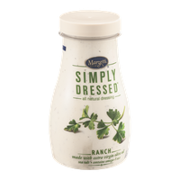 Marzetti Simply Dressed All Natural Salad Dressing Ranch Flavor