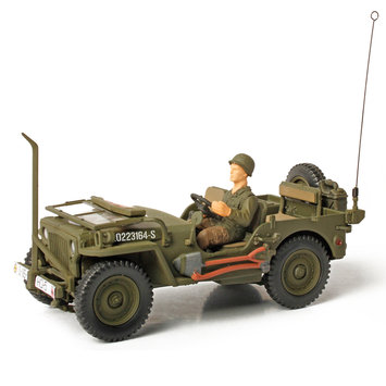 Unimax Toys Limited Unimax Forces of Valor U.S. General Purpose Vehicle 1:32 Scale