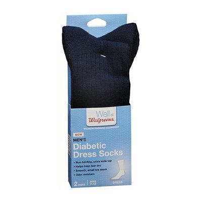 Walgreens Diabetic Dress Crew Socks for Men Sizes 7-12