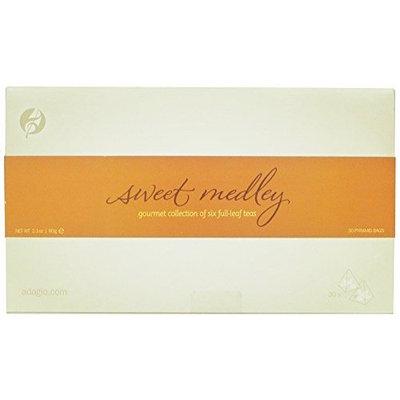 Adagio Teas Sweet Medley Collection Gourmet Tea Bags, 2.1 Ounces, 30-Count