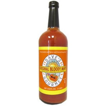 Daves Gourmet Dave's Gourmet Original Bloody Mary Mix - 32 oz Glass Bottle