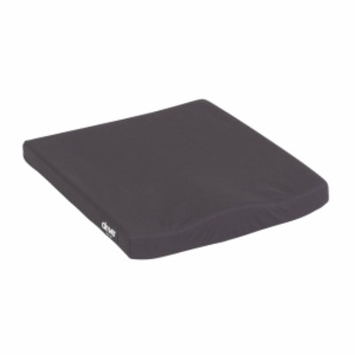 Drive Medical Molded General Use Wheelchair Cushion, Black, 16x18x2, 1 ea