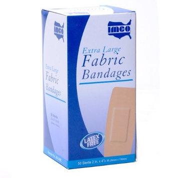 White Cross Bandages Extra Large Fabric Knee & Elbow 50/bx