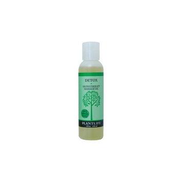 Plantlife Natural Body Care - Detox Therapy Massage Oil, 4 fl oz oil