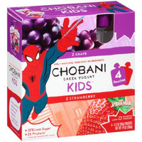 Chobani KIDS® Grape And Strawberry Low-fat Yogurt Pouches