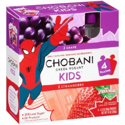 Chobani KIDS® Grape And Strawberry Low-fat Yogurt Pouches